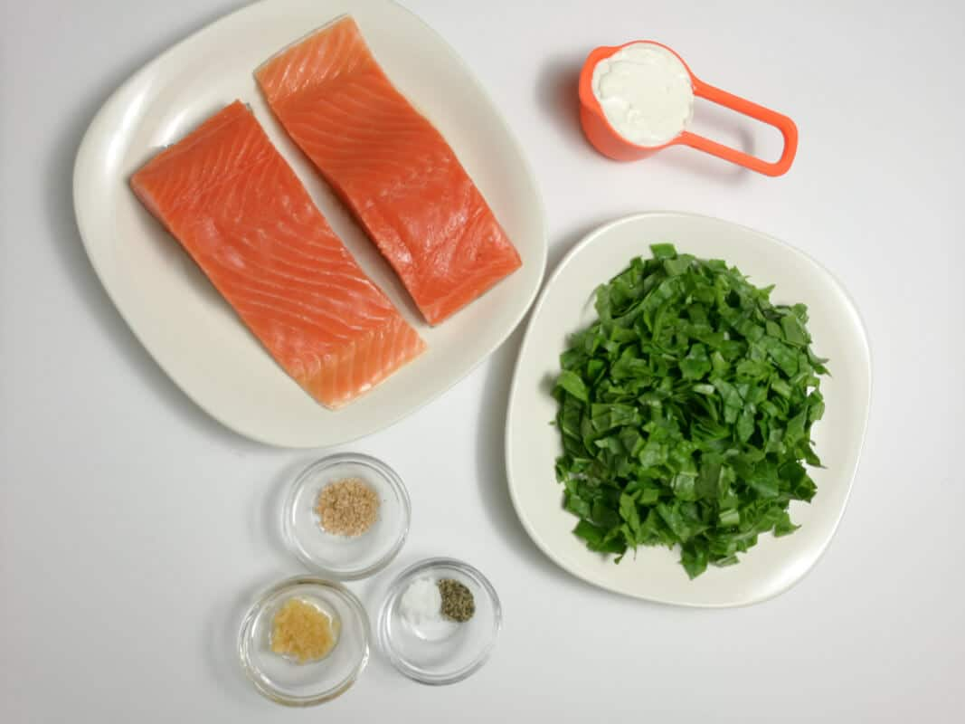 Stuffed salmon fillet - Ingredients | nashifood.com