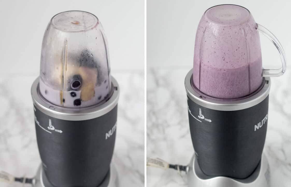 Bluerberry Cheesecake Smoothie | nashifood.com