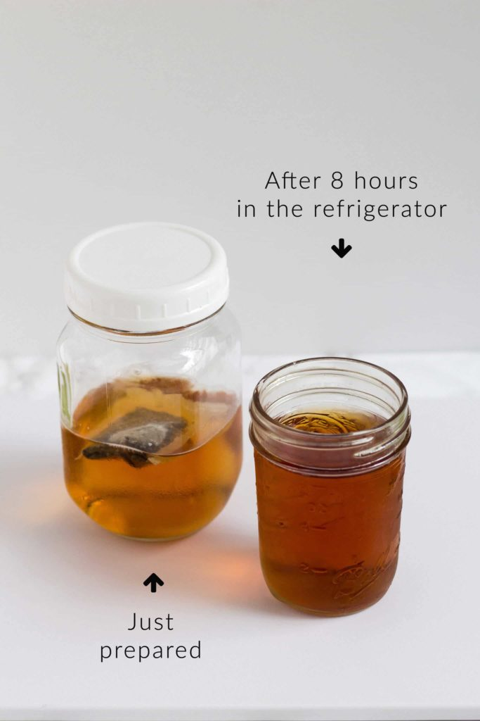 Single Serving Cold Brew Tea