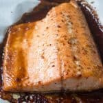 This easy six-ingredient honey teriyaki salmon will make you enjoy your dinner plus it takes only 25 minutes to make from start to finish | nashifood.com