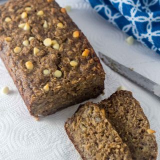 Banana Oat Bread - Try this easy 12-ingredient banana oat bread, you will love it!